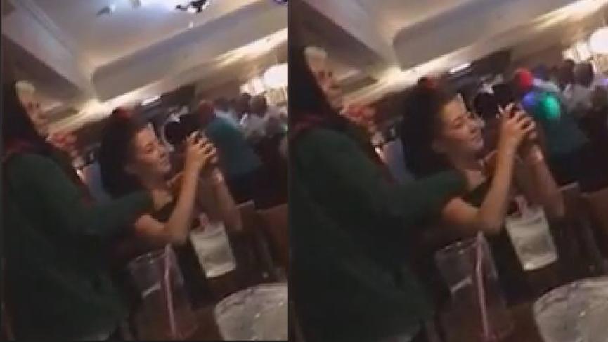 Elini genç kızın göğsüne soktu! Videoyu izleyince her şeyi gördü
