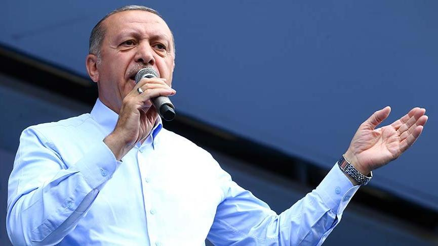 Erdoğan'dan meydanlara İnce fırçası