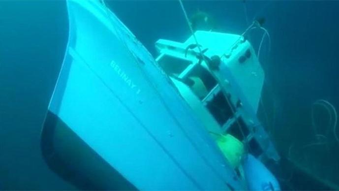Ayvalık'ta batan teknede kaybolan iki genç aranıyor