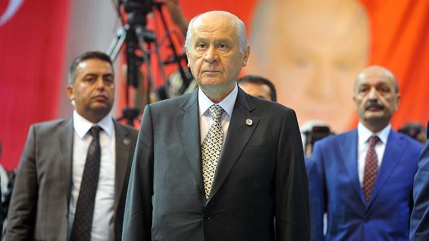 MHP lideri Bahçeli'den Bursa'da sert sözler