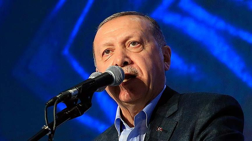 Erdoğan: Şimdi çıkmış Bay İnce çok da ince değil ya...