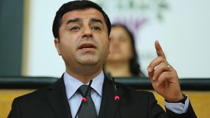YSK'dan Demirtaş için canlı yayın kararı