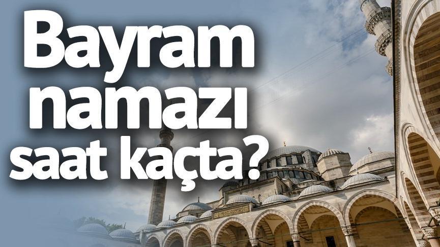 İzmir Ramazan Bayramı namazı saati kaçta? Bayram Namazı kaç rekat? (Şeker Bayramı 2018)