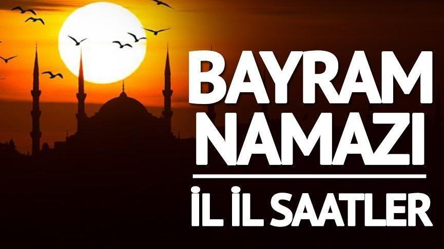 Diyanet il il bayram namazı saatleri: Yalova bayram namazı saat kaçta? (2018)