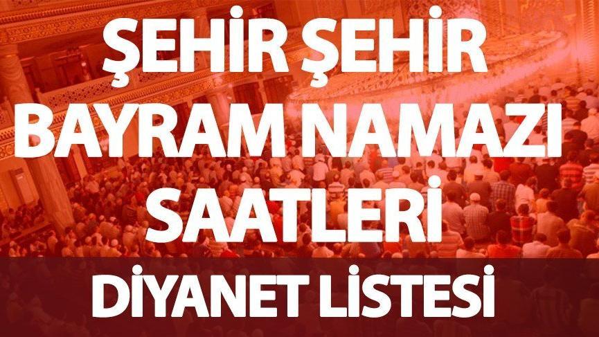 Nevşehir'de Bayram namazı saat kaçta okunuyor? (İşte il il Ramazan Bayramı namaz saati 2018)