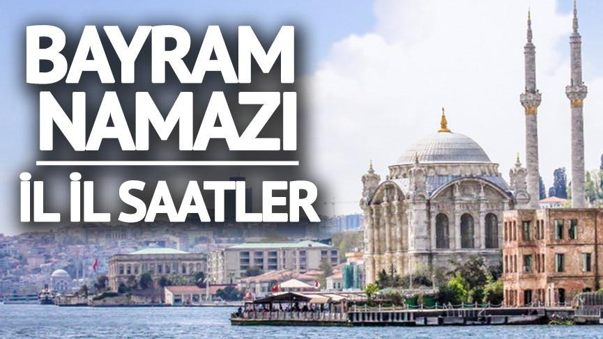 Diyarbakır'da bayram namazı saat kaçta? İl İl Bayram Namazı saatleri (Ramazan Bayramı saatleri 2018)