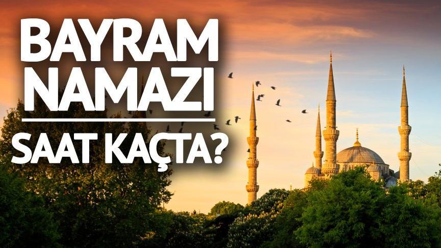 İl il bayram namazı vakitleri: Rize'de bayram namazı saat kaçta kılınacak?