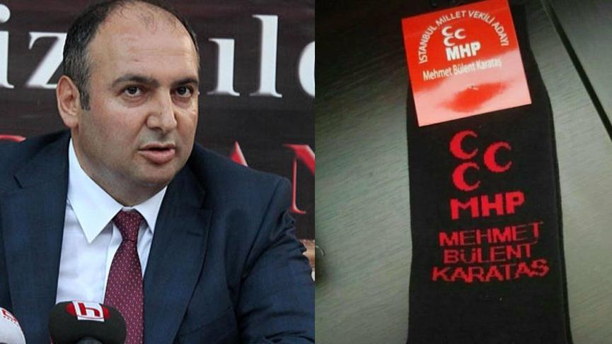 MHP'de 'siyah çorap' krizi