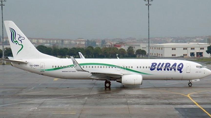 İki kez arıza yapan Libya uçağı yolcular arasında kriz yarattı