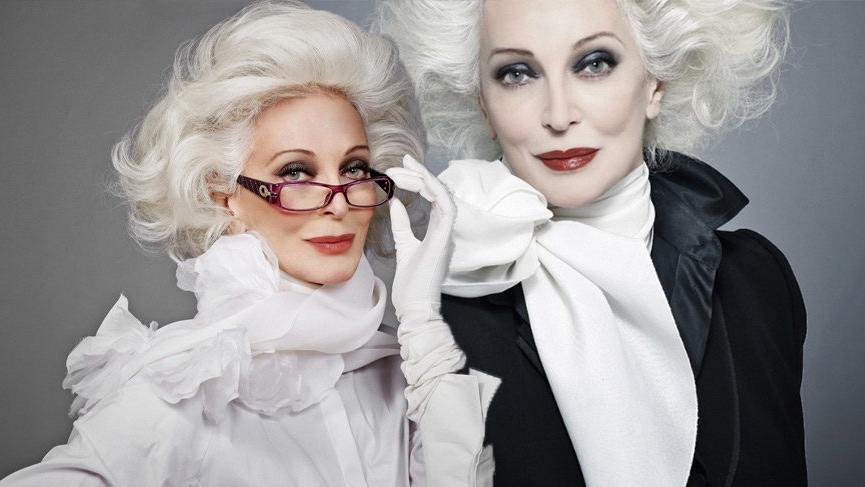 86'lık model Carmen Dell'orefice