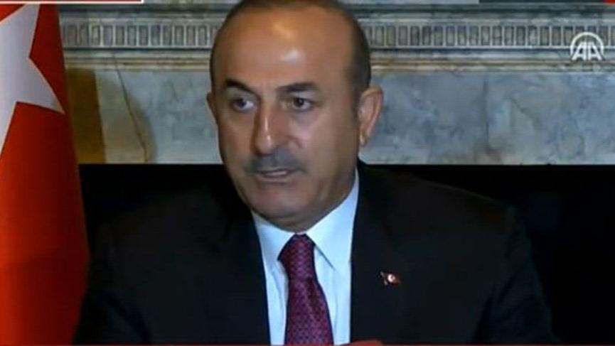 Dışişleri Bakanı Mevlüt Çavuşoğlu ABD'de açıklamalarda bulundu