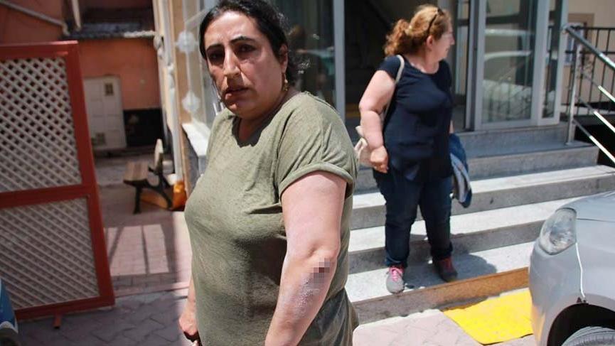 Kırşehir'de broşür dağıtan CHP Kadın Kolları Başkanına saldırı