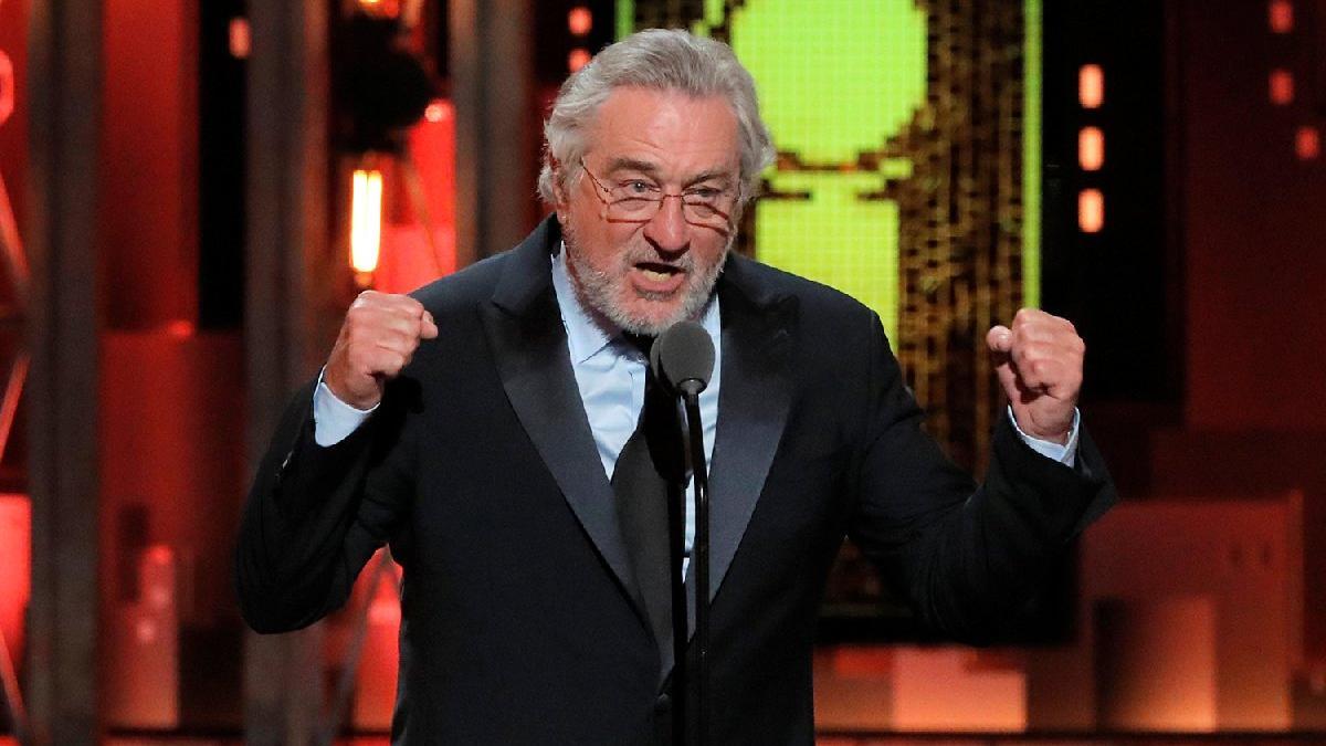 Robert De Niro'dan Trump'a şoke eden küfür!