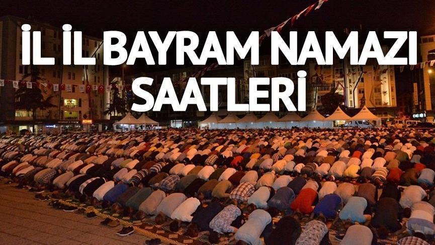 2018 Bayram namazı vakitleri: Denizli'de bayram namazı saat kaçta kılınacak?