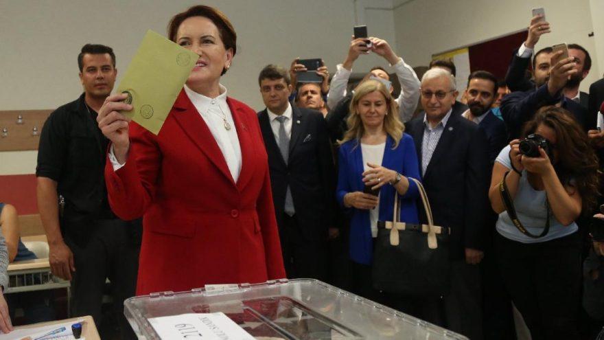 Meral Akşener'in oy kullandığı sandıktan kim çıktı?