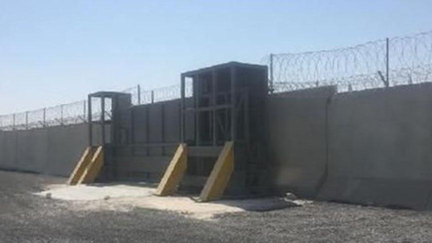 İran sınırına duvar bitiyor