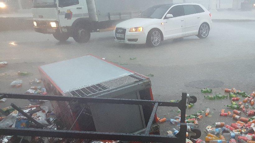 Düzce'de yağışlar hayatı felç etti