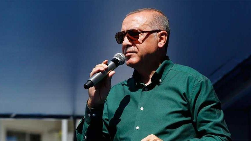 Erdoğan Gaziantep'te halka hitap etti!