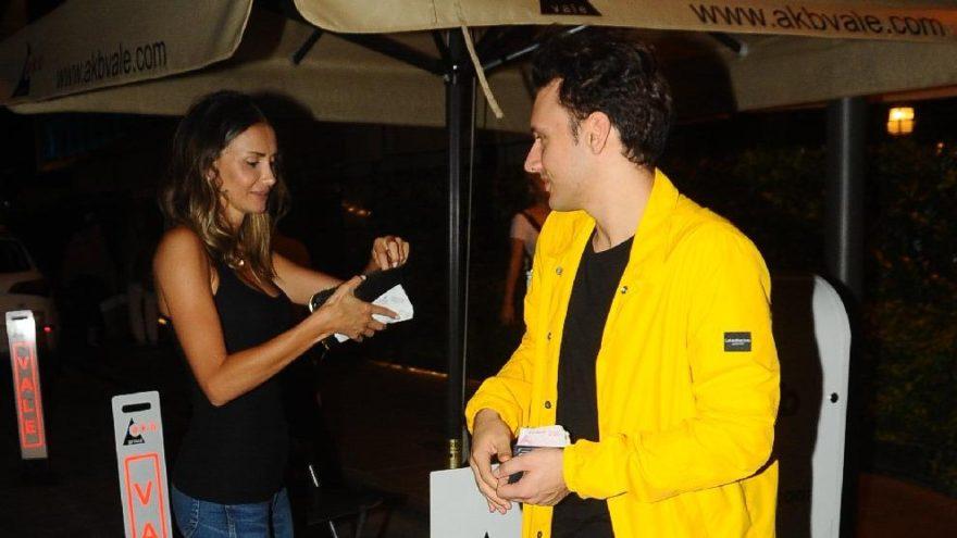 Emina Sandal ile şarkıcı Edis, düet yapmak için stüdyoya girdi