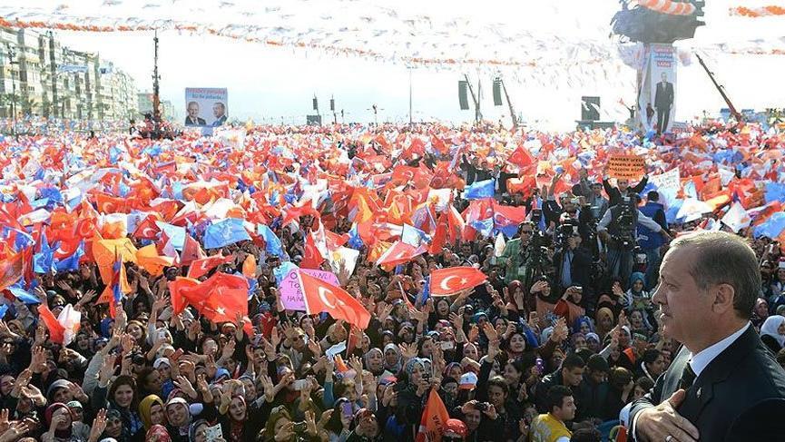 Erdoğan Diyarbakır mitinginde vatandaşlara hitap etti