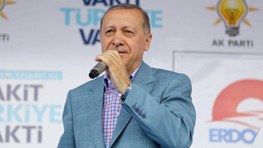 Erdoğan Konya'da İnce'ye yanıt verdi