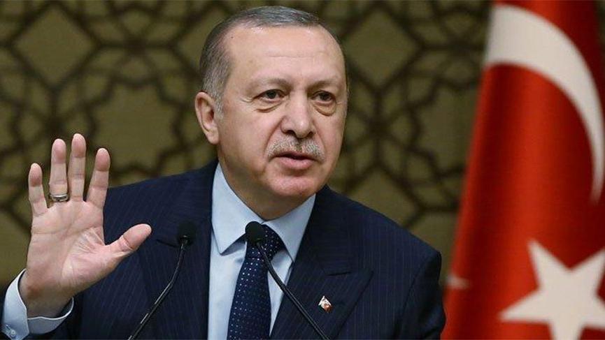 Erdoğan, Aksaray'da halka hitap etti