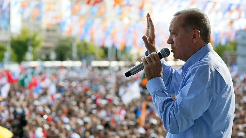Erdoğan: Birinci çıkamazsan bu işi bırakmaya hazır mısın?