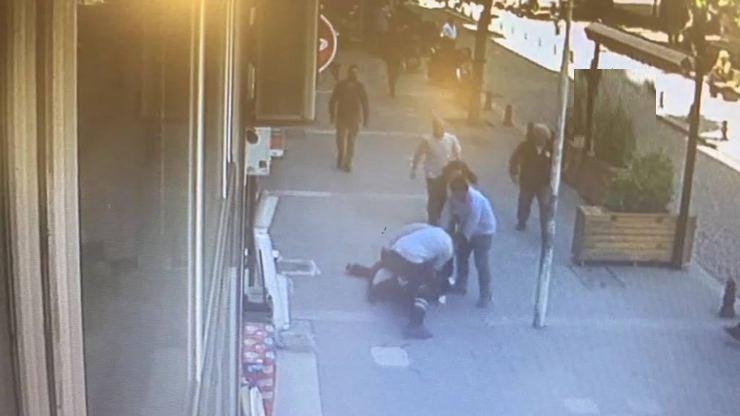 Eşini sokak ortasında döven kocaya üçüncü kez uzaklaştırma kararı