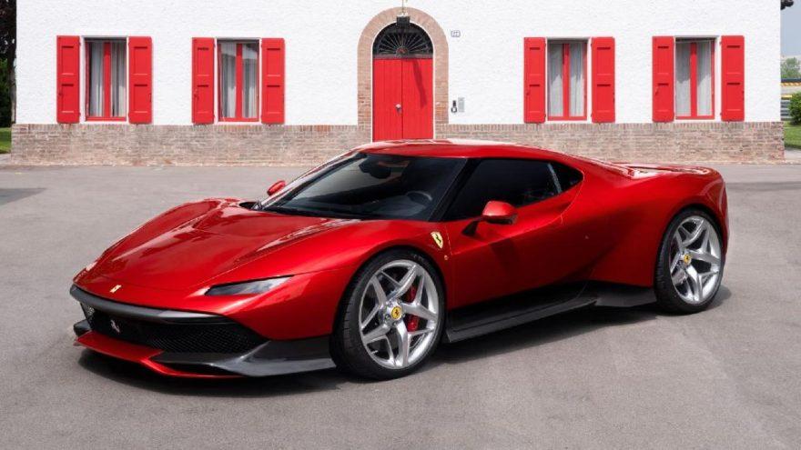 İstek üzerine özel olarak üretilen : Ferrari SP38