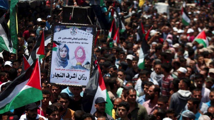 Filistin, yardım meleğine ağlıyor