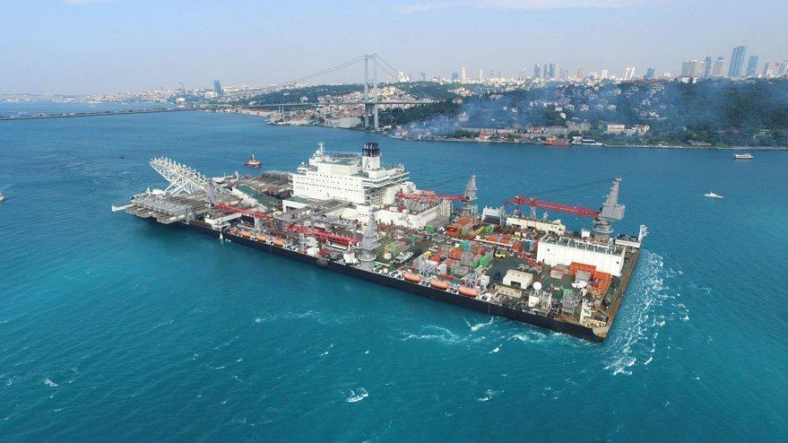 TürkAkım'ın ikinci hattı başladı