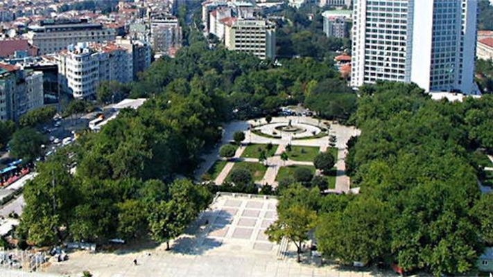 Gezi Parkı'ndaki 1361 ağacın bilgilerini topladılar