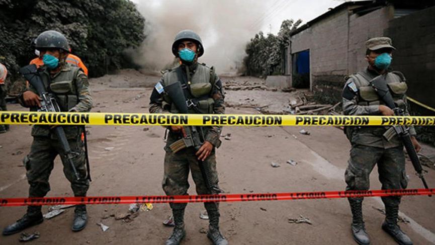 Guetemala'daki felakette ölü sayısı 62'ye ulaştı