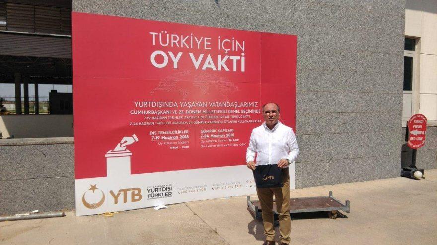 'Gümrük kapılarında devlet eliyle AKP propagandası'