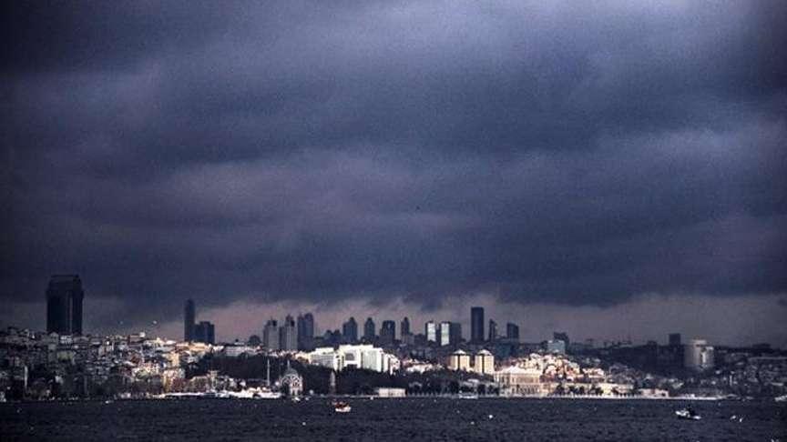 İstanbul sağanağa dikkat! Hava durumu detayları…