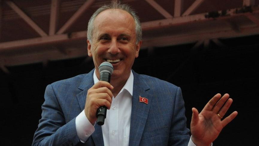İnce'den Erdoğan'a: Şimdi kaldır elini tutan mı var?