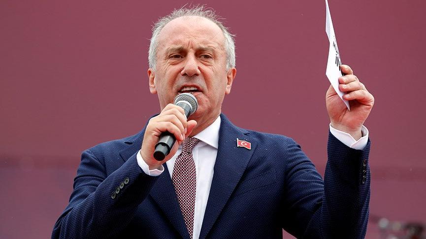 İnce'den Erdoğan'a canlı yayın tepkisi