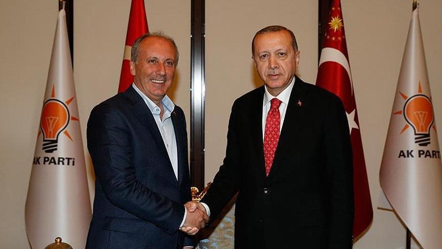 İnce ve Karamollaoğlu Erdoğan'ı tebrik etti