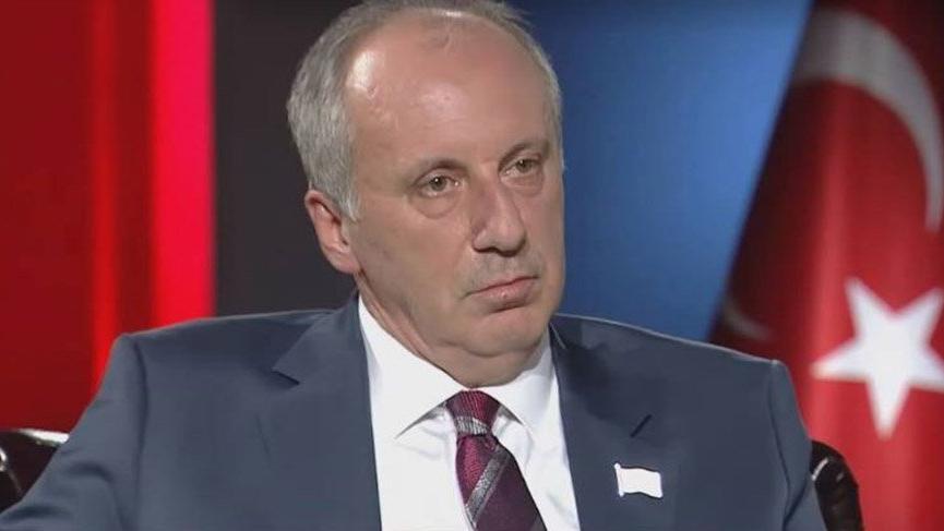 Muharrem İnce'den canlı yayında TRT'ye tepki