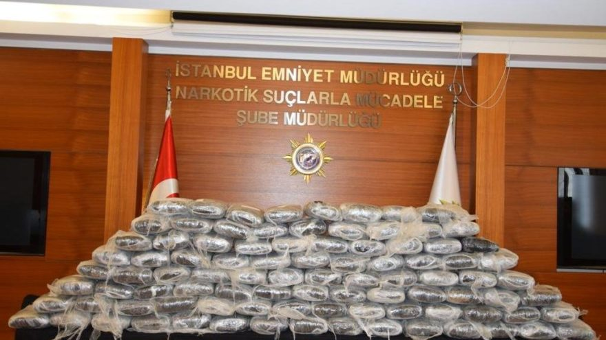 5 ayda 5 ton 748 kilo uyuşturucu!