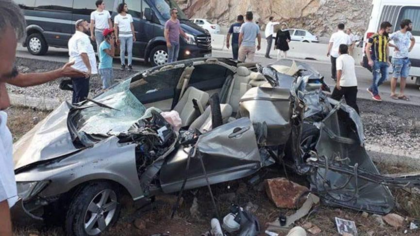 Antalya'yı yasa boğan kaza