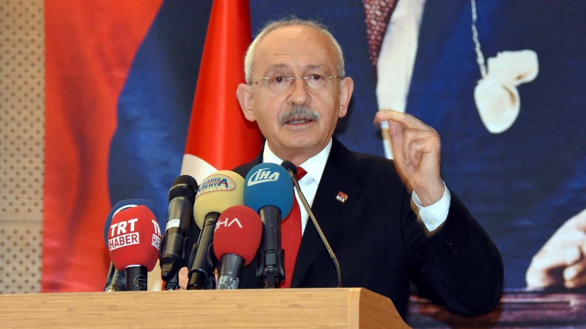 Kılıçdaroğlu Manisa'da konuştu