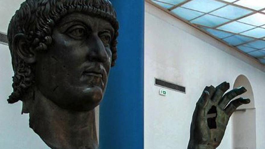 İstanbul'un kurucusu Konstantin'in kayıp parmağı ortaya çıktı