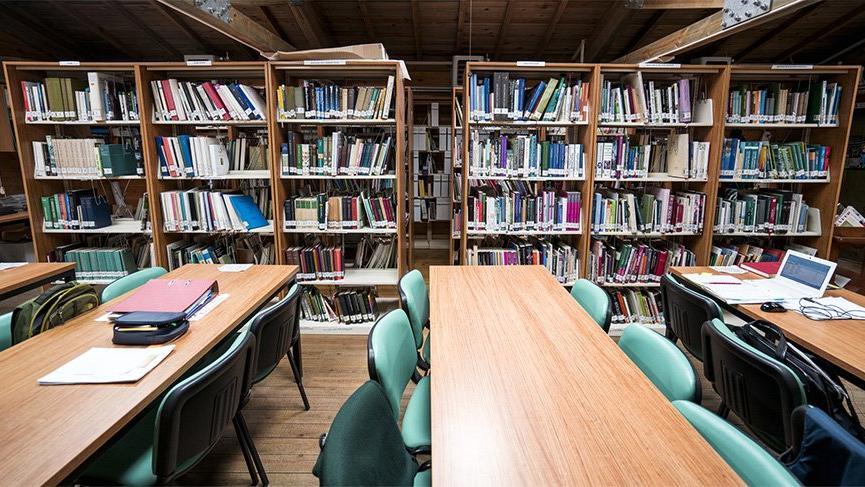 552 kütüphaneye kilit