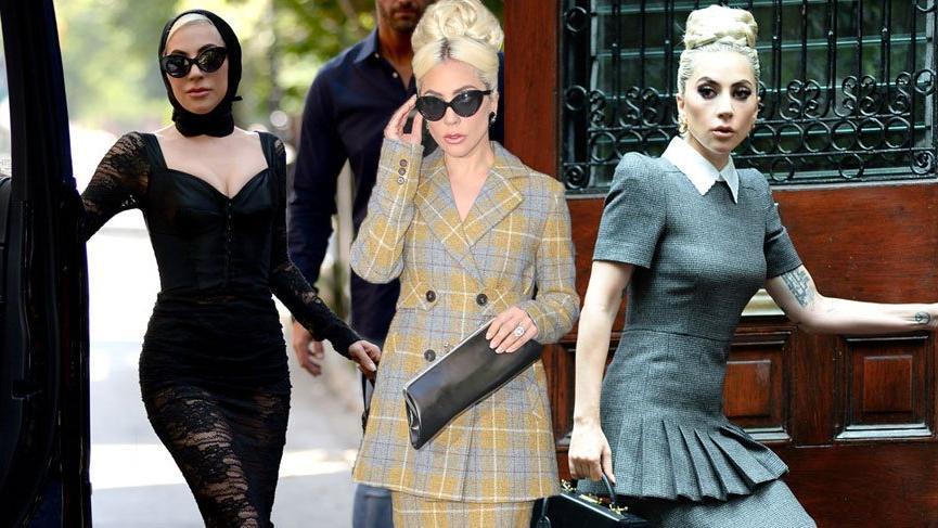 Lady Gaga kendini 60'lara kaptırdı