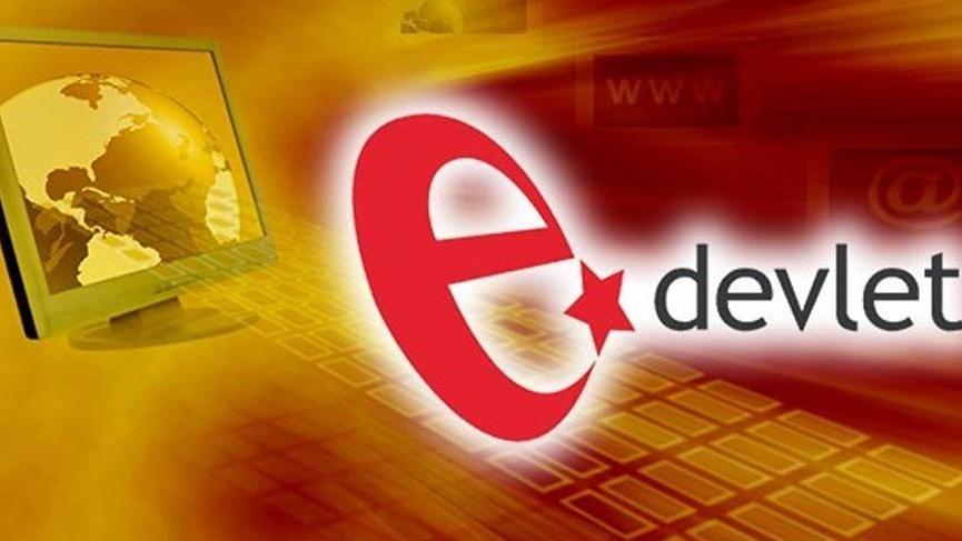 E-Devlet'ten yeni bir hizmet daha!