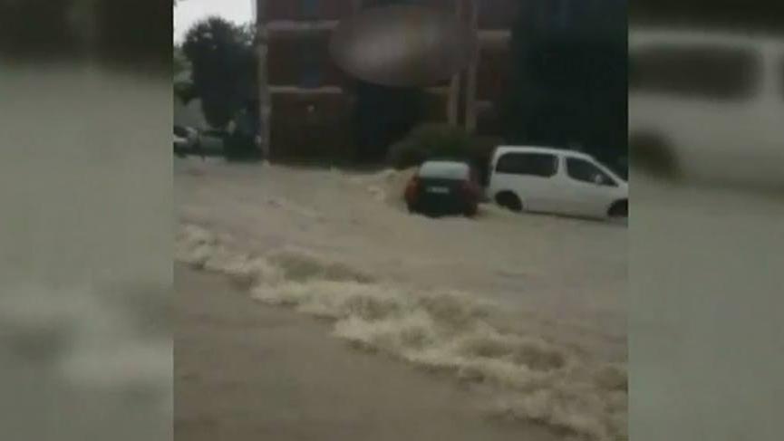 Ankara'da yine sel!