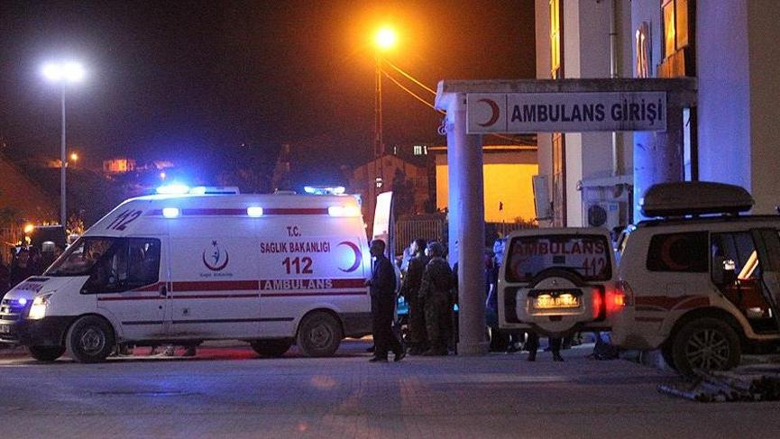 Hakkari'de askeri konvoya roketli saldırı gerçekleştirildi