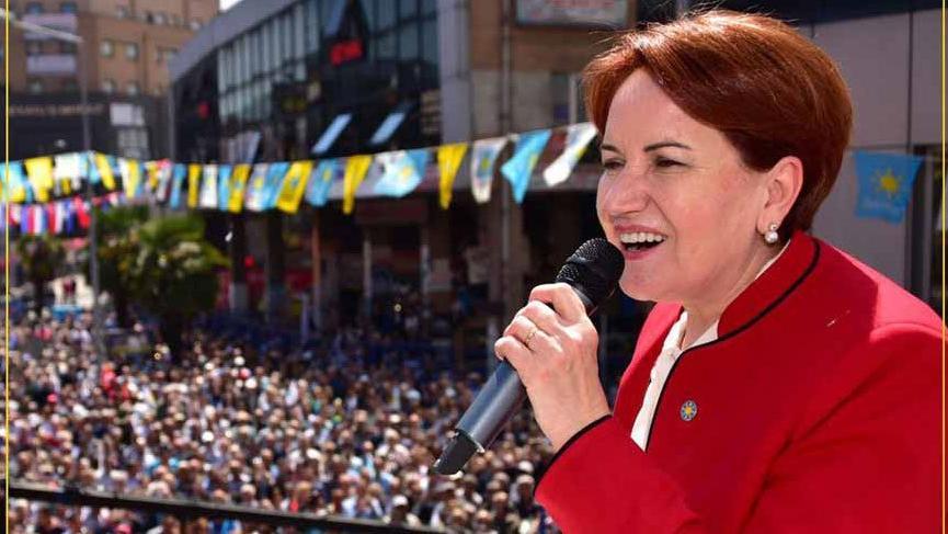 Akşener Kütahya'da partisinin düzenlediği mitinge katıldı