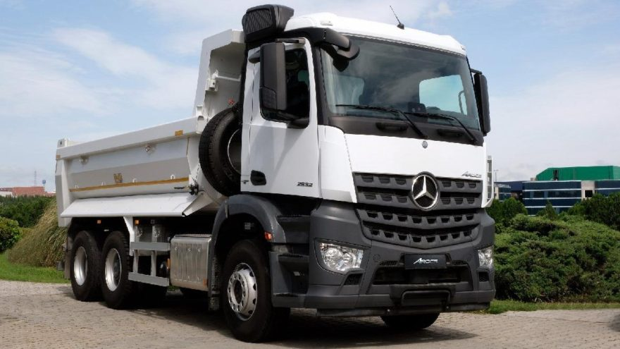 Mercedes-Benz Arocs'un en yenisi yollarda